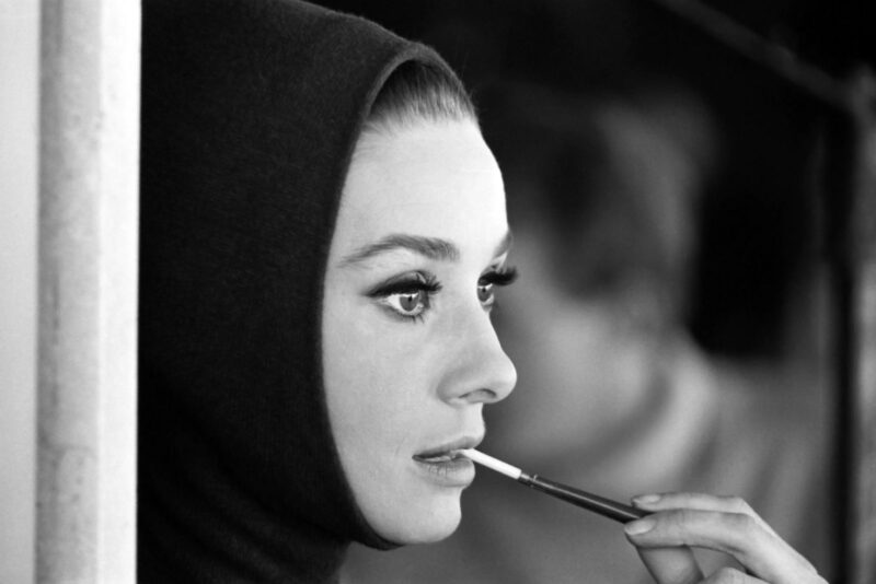 Audrey Hepburn, 1963, film Charade. Photograph by Vincent Rossell